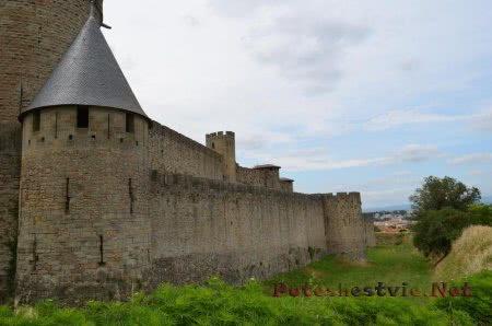 Французский город-крепость Каркассон