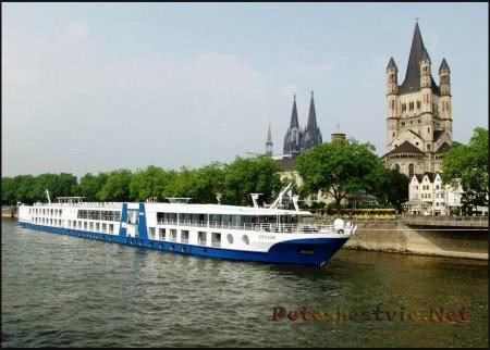 круиз на теплоходе по реке Рейн