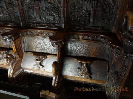 Резные скамьи шедевры мастеров средневековья