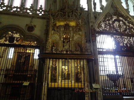 Интерьеры толедского Собора Святой Марии