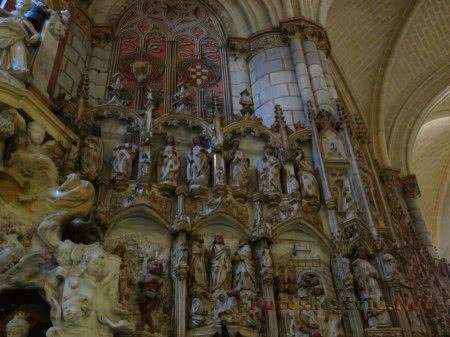 Скульптурная композиция из Святых в толедском Соборе