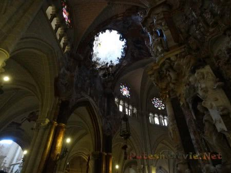Таинственные своды Собора Святой /Марии в Толедо