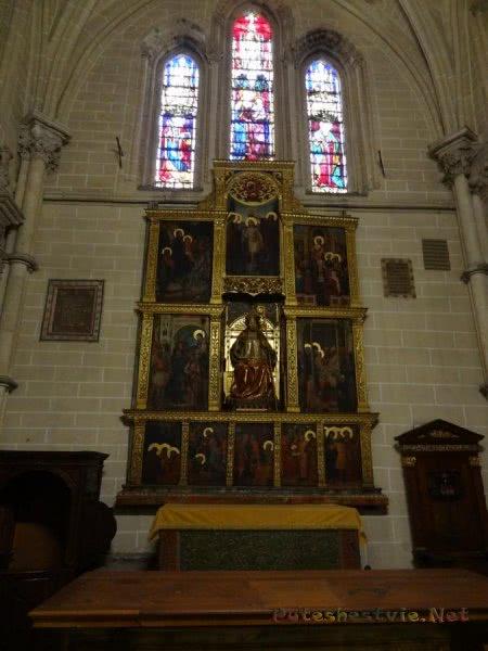 Иконостас толедского Собора Святой Марии