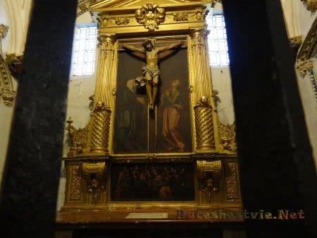 Художественное оформление интерьера собора в Толедо