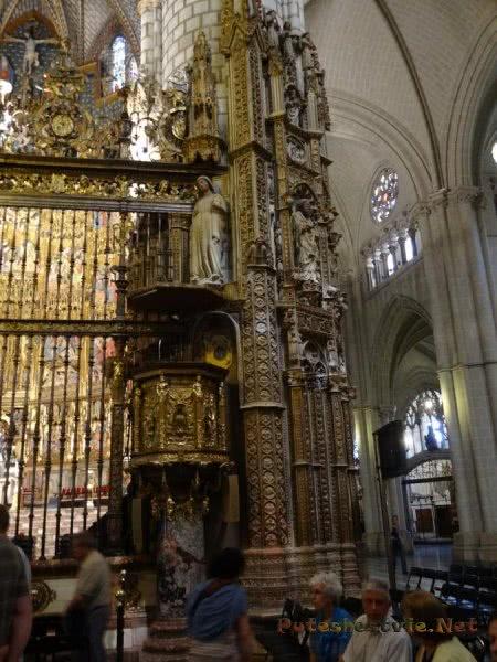 Ажурный декор Собора Святой Марии в испанском Толедо