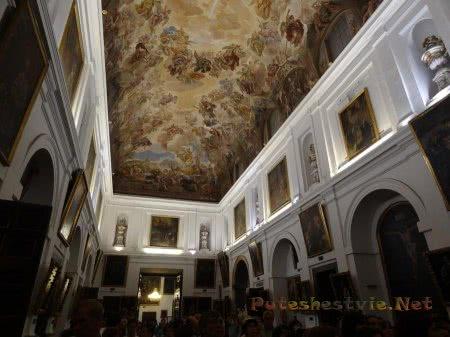 Зал живописи музея при Соборе Святой Марии