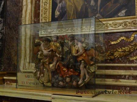 Произведения искусства в музее Собора Святой Марии в Толедо