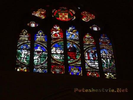 Витражное окно Кафедрального собора Толедо