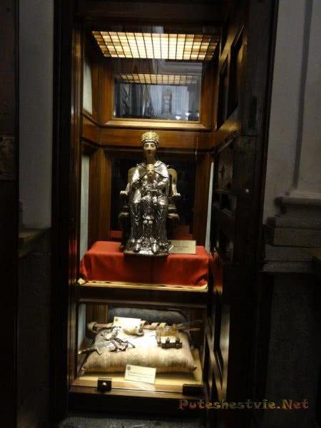 Богатая экспозиция музея в Кафедральном соборе Толедо