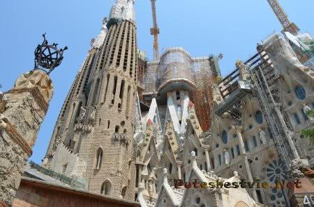 Саграда Фамилия украшение Барселоны