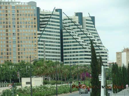 Футуристические здания Валенсии