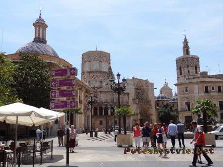 Площадь у Кафедрального собора Валенсии