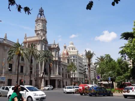 Здание города Валенсии