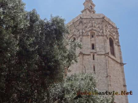 Башня при Кафедральном соборе Валенсии