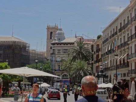 Красивые здания Валенсии