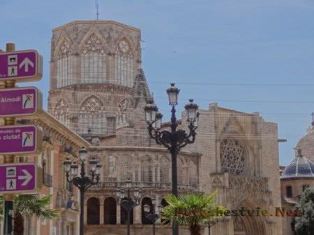 Оформление Кафедрального собора Валенсии