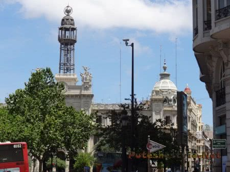 Изящные формы зданий Валенсии