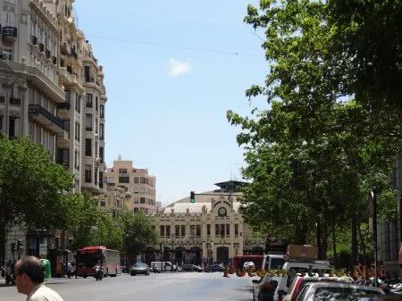 Улица испанской Валенсии