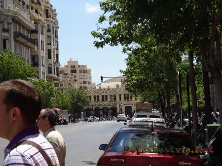 Одна из улиц Валенсии