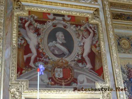 Портрет француского Генриха Четвертого в Лувре