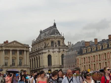 Туристические группы в Версале