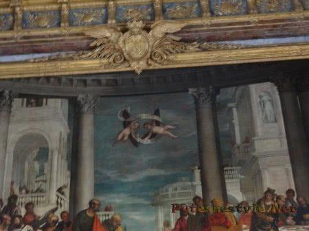 Роспись стен в Версале