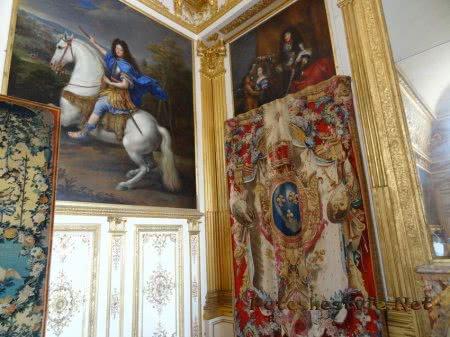 Старинные гобелены в Версале