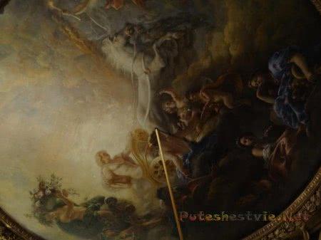 Кропотливая работа художника в Версале