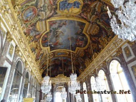 Хрустальные люстры Танцевальной залы Версаля