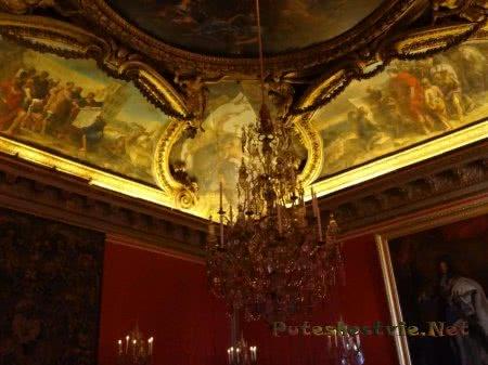 Невероятная красота интерьера в Версальском дворце