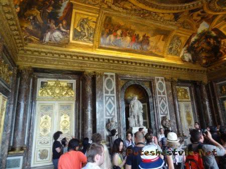 Французский Дворец Версаль роскошный и неповторимый