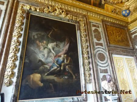 Великие картины на стенах Версаля
