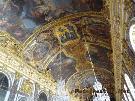 Роспись потолка в Танцевальной зале Версальского дворца