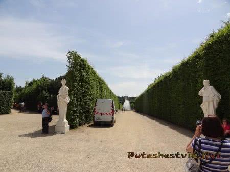 Дорожка к фонтану Версаля