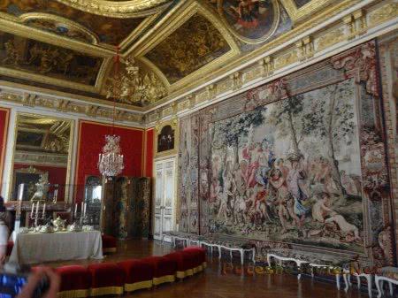 Зал Версаля для приемов близких гостей короля