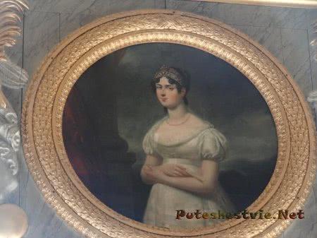 Портрет французской знатной дамы