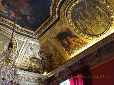 Потолок в спальне Людовика Четырнадцатого