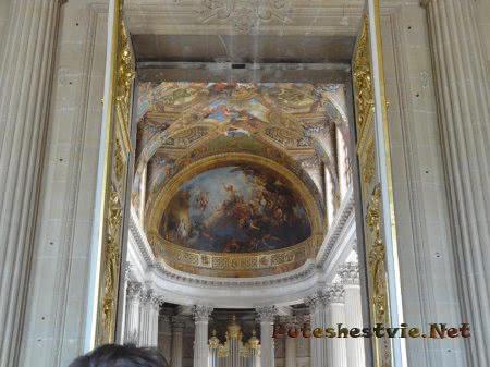 Прекрасное оформление комнат Версаля