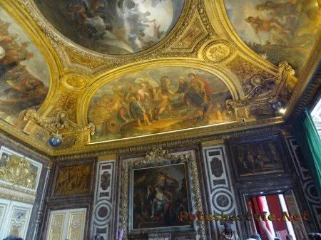 Великие полотна художников украсивших Версаль