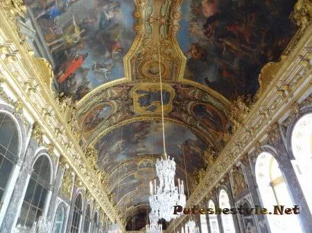 Потолок Танцевальной залы Версаля
