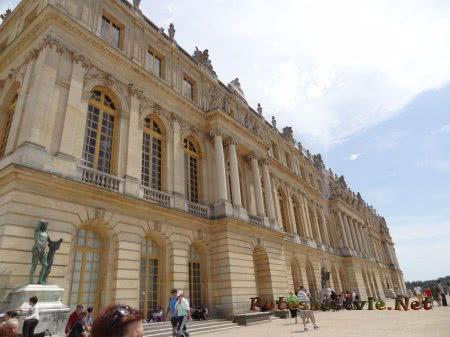 Более строгое задние Версальского дворцового комплекса