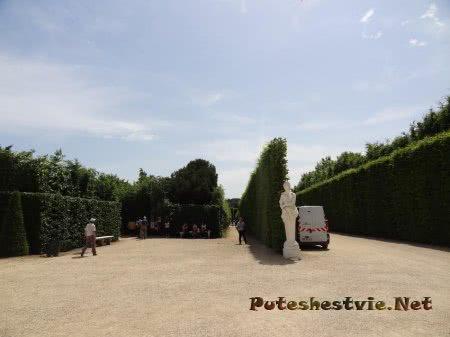 Лабиринт садов Версаля