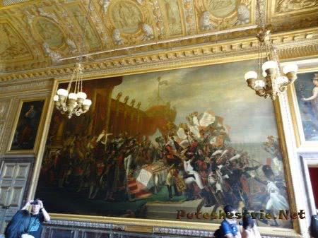 Сцена битвы в Версале
