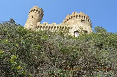 Замок над Средиземным морем в Ллорет-де-Мар