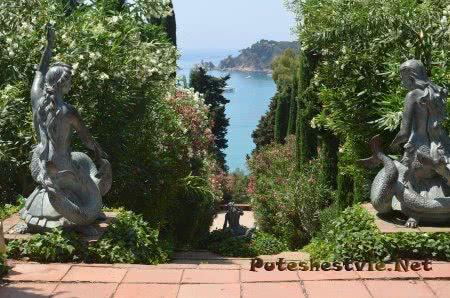Сад Святой Клотильды красивейшее место побережья Коста Брава