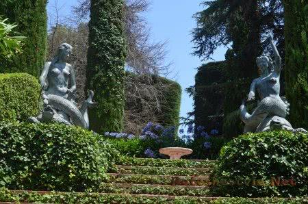 Великолепный Сад Святой Клотильды в Ллорет-де-Мар