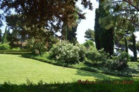 Приятная тень в Саду Святой Клотильды