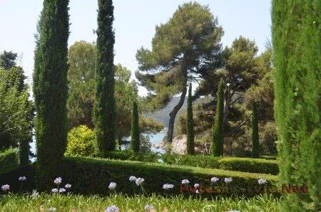Очарование Садов Святой Клотильды в испанском Ллорет-де-Мар