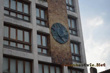 Декор здания в Ллорет-де-Мар