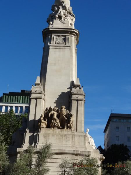 Памятник произведениям Сервантеса